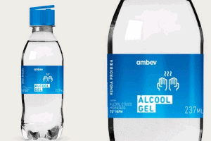 Ambev começa a produzir álcool gel