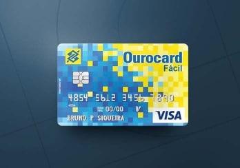 Cartão Ourocard Fácil do BB