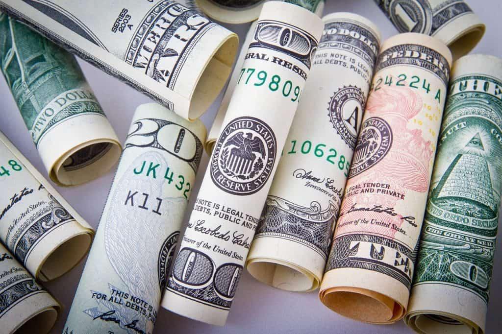 dinheiro físico