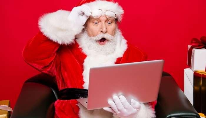 compras de natal pela internet